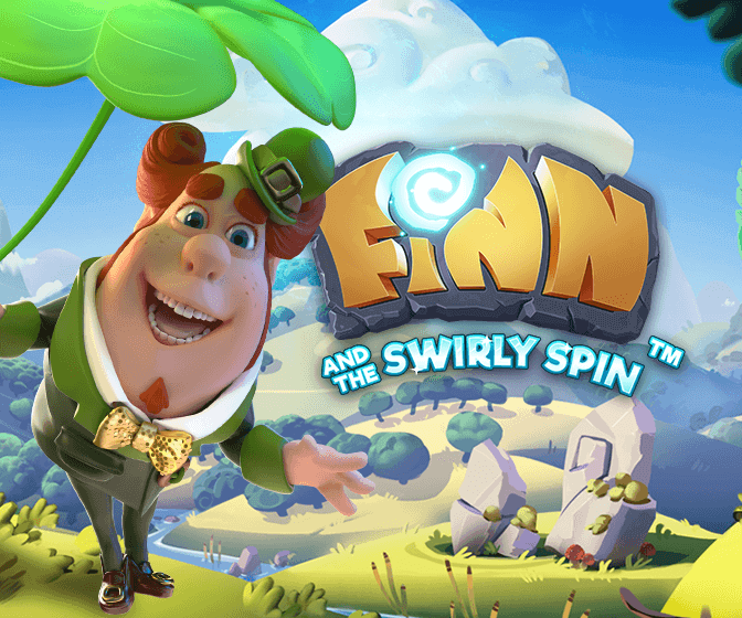 An image of the Finn and the Swirly Spin banner