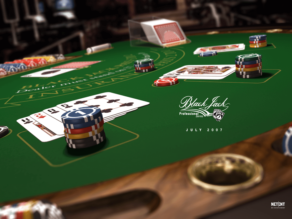 A screenshot of Blackjack Professional