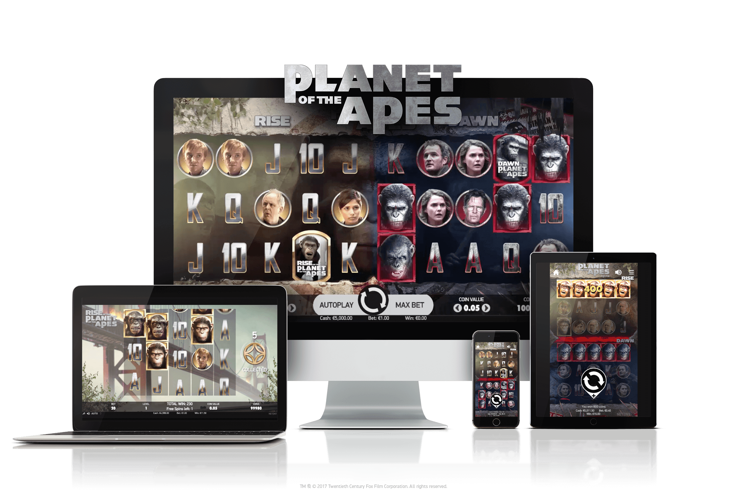 An image of Planet of the Apes on Multiple platforms