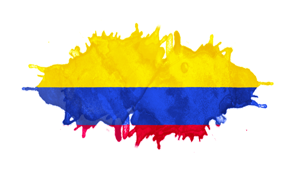 An image of the Colombia flag